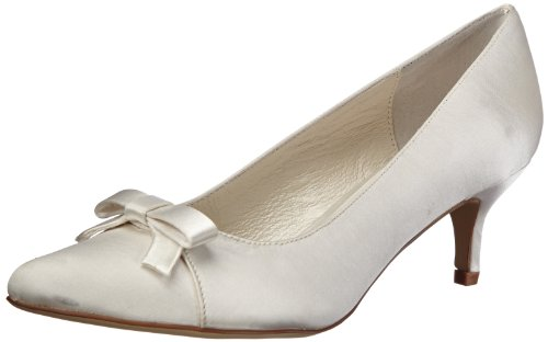 Menbur Wedding Lisbeth 5685 Damen Pumps, Elfenbein (Ivory 04), EU 38