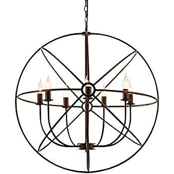 Ruanpu lumières Rétro Suspension Luminaire Vintage