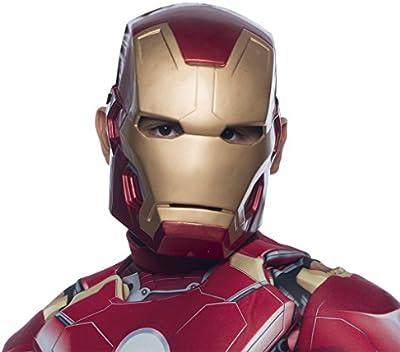 Avengers - Mascara Iron Man infantil, talla única (Rubie's Spain 36251)