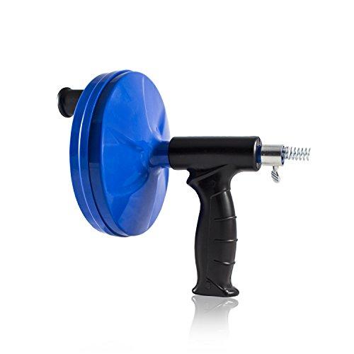 Nirox N3104 Rohrreinigungswerkzeug, 7,6m x 6mm, ausziehbare Rohrreinigungsspirale für Siphon & Abfluss in Bad oder Küche
