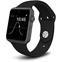 Smartwatch Reloj Inteligente Stoga SW25 Bluetooth Smart Watch Soporte de Tarjeta SIM Smartphone Fitness Tracker para IOS Android - Negro