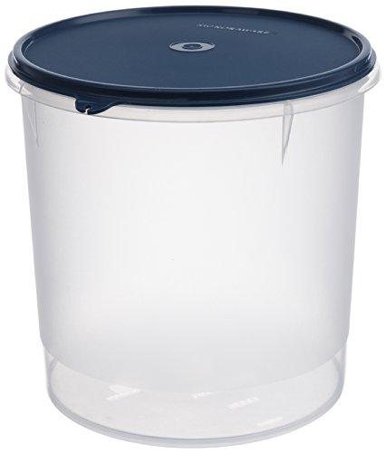 Signoraware Modular Round Plastic Container, 5.5 litres, Set of 1, Mod Blue