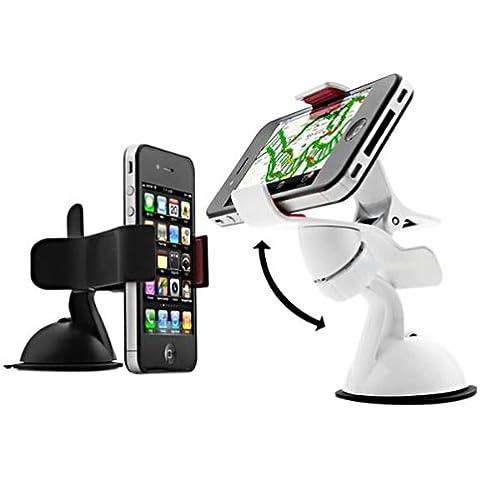 360 ángulo de giro del coche lechón sostenedor del soporte para el iPhone Smartphone .