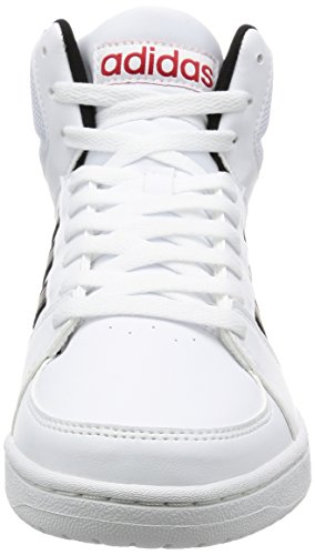 VS B74501 ADIDAS SLIPPER WHITE HOOPS Blanc
