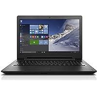 Lenovo ideapad 110 15.6-Inch Notebook (Black) - (Intel Celeron N3060 1.6 GHz, 4 GB RAM, 500 GB HDD, Windows 10)