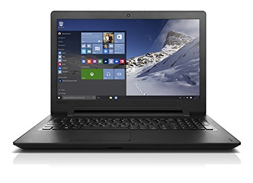 Lenovo ideapad 110 15.6-Inch Notebook (Black) - (Intel Celeron N3060 1.6 GHz, 4 GB RAM, 500 GB HDD, Windows 10)