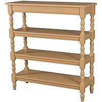 Comparador de precios Casa-Padrino Country Style Shelving Cabinet 85 x 35 x H89 cm Hardwood, Combinaciones:Amarillo Pastel - precios baratos