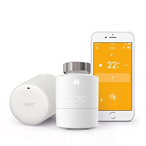 Tado-Thermostat, weiß, SK-2SRT01HIB01-TC-FR
