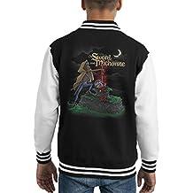 The Sword And Michonne Walking Dead Kid's Varsity Jacket