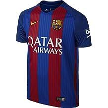 Nike Fcb Yth Ss Hm Stadium Jsy Camiseta, Hombre, Azul (Sport Royal / Gym Red / University Gold), L