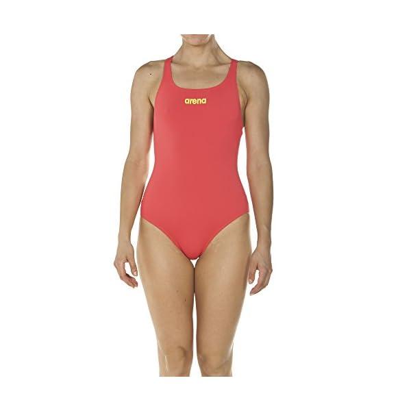 Arena Maillot de Bain Sport pour Femme Solid Swim Pro