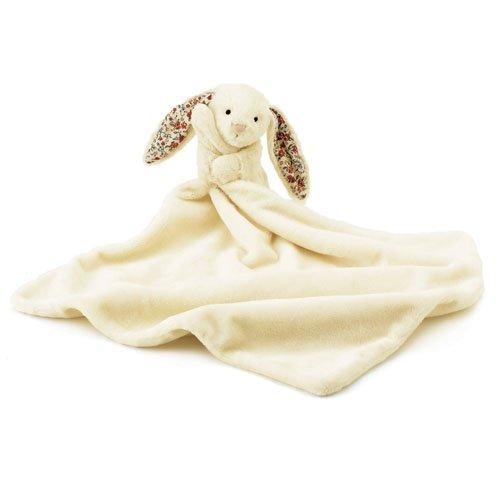 Image of Little Jellycat - Blossom Bashful Bunny Cream - Baby Comfort Blanket