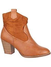 05f91dcc891 Amazon.es  botines color camel - 38   Zapatos para mujer   Zapatos ...