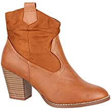 4c0be5ece8c Amazon.es  Botas color camel mujer