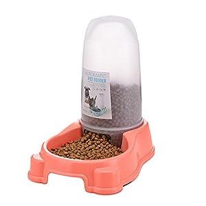 Roblue Baril de Nourriture Chien Distributeur d'eau Chiens Chats en PP Couleurs Aléatoires