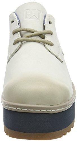 Caterpillar Ambition, Chaussures à Lacets Femme Blanc Cassé - Off White (Whitecap)