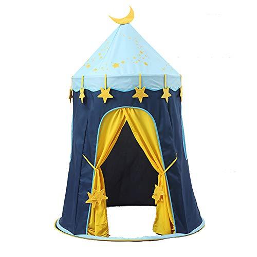 Nbibsaacy Tienda de Campaña casita Carpa para niñas de Tela Lona Plegable...