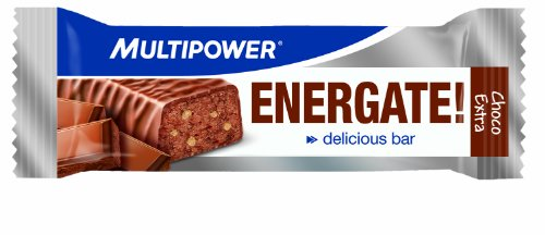 Multipower Energate Chocolate Barras Nutritivas   24 Barras