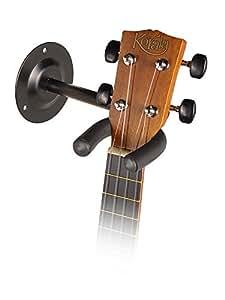 Crochet à angle droit Support mural Support pour Ukulélé, mandoline, bouzouki, banjo, etc.