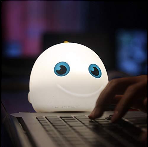 Cartoon Meeresfisch Pat Light Soft Silikon Tischlampe Home Decor für Baby Kids Touch Control Nachtlicht