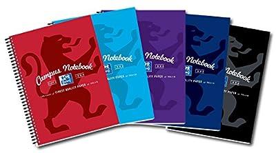 Oxford Campus Wirebound Notebook, A4 Size