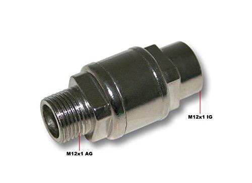Wiltec Airbrush Kompressor Rückschlagventil AS189 / AS196 / AS196A Zubehör