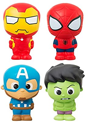 Marvel. Vengadores Squishy Muñeco Antiestrés Squishys Super Heroes para Niños Muñecos Squishies Kawaii Avengers Superheroes Juguete de Marvel.
