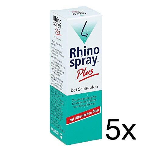 Rhinospray Plus 5 x 10 ml Sparset inklusive einer Handcreme von vitenda.de