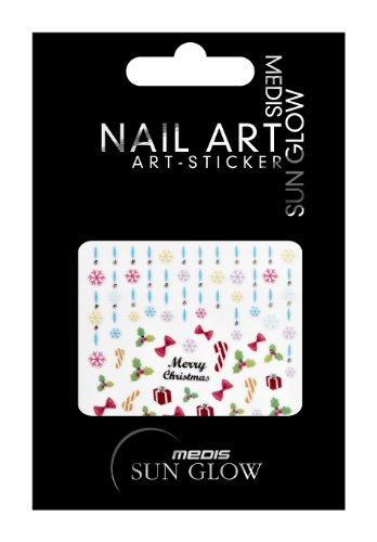 Medis Sun Glow 4670 Stickers pour ongles Multicolore