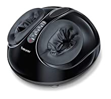 Beurer FM 90 Massaggiatore Plantare Shiatsu ad Aria Compressa con Funzione Calore