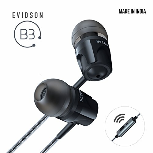 Evidson Audio B3 In-Ear Earphones with MIC (Black)