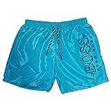 Hugo Boss Pantaloncini da Bagno Short per Uomo (XL, Turchese)