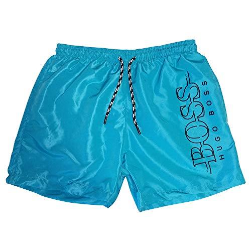 BOSS Hugo Maillot de Bain Short pour Homme (XL, Turquoise)
