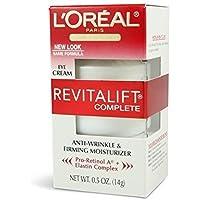 Loreal Eye Cream, Anti-Wrinkle & Firming 0.5 oz (Pack of