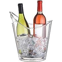 Bar Craft - Cubitera para botellas, transparente
