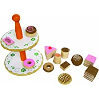 Tano - Wooden Toys - Pastries on a Stand