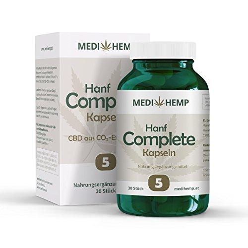 *MEDIHEMP Hanf Complete Kapseln 5 % , Original*