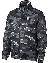 Nike M NSW CE JKT JD WNDBRKR Camo Jacket, Hombre, Cool Grey/Anthracite