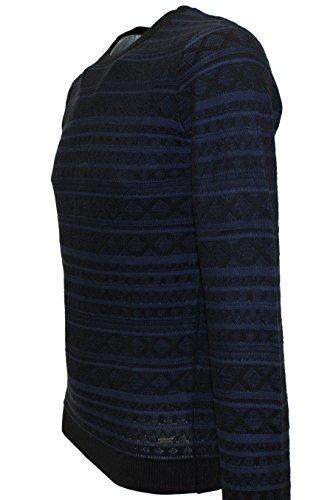 TOM TAILOR Knitwear Feinstrick Pullover blau (blue 2124)