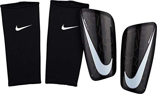 Nike NK MERC LT GRD Shin Guards, Volt/Obsidian, L -