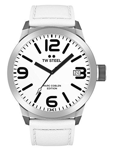 TW Steel Herren Uhr Armbanduhr Marc Coblen Edition TWMC20 Lederband