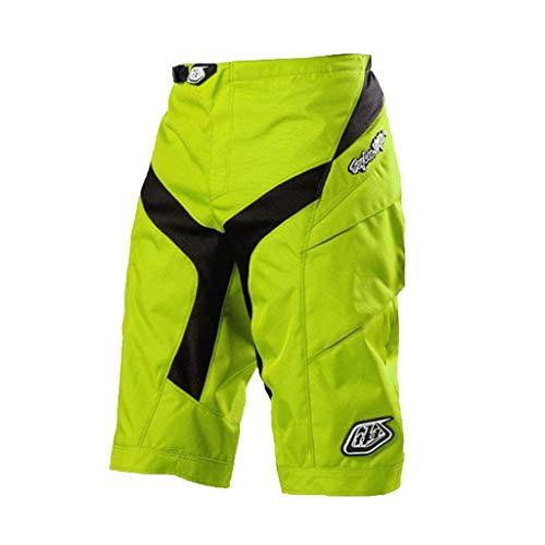 LXIANGP Männer Shorts Radfahren Hosen Mountainbike Kurze Hose MTB Moto Fahrrad BMX Langlebig Tragen-beständig und Schnell Trocknend Atmungsaktiv Jersey (Color : A, Size : L) - Race Trägerhose Radhose