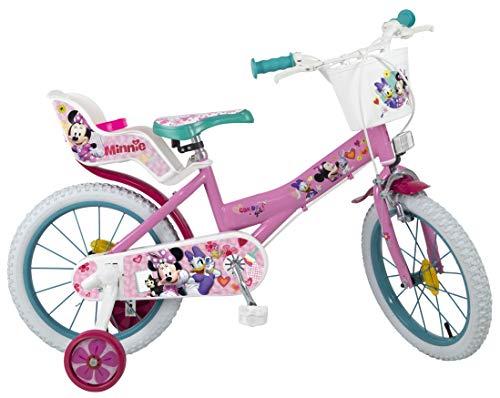 TOIMSA Niños Minnie-Bicicleta Infantil