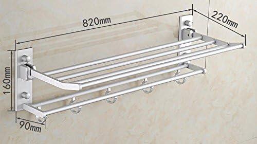 USDFJN USDFJN USDFJN Barra tovagliolo Il Stile Minimalista WC Bagno Supporto Gantry 82  16  22 898159