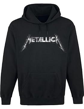 Metallica Spiked Logo Kapuzenpulli schwarz