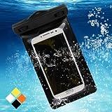 Bingsale Samsung Galaxy s4/Samsung Galaxy s5 Wasserdichte Case Tasche Hülle - Silicon Protector Schutzhülle schwarz
