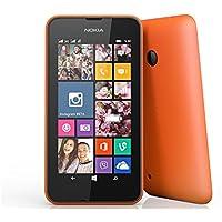 "Nokia Lumia 530 SIM única 4GB Naranja - Smartphone (10,2 cm (4""), 4 GB, 5 MP, Windows Phone, Windows Phone 8.1, Naranja)"