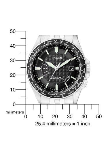 Citizen Herren-Armbanduhr Analog Quarz Edelstahl CB0021-57E - 2
