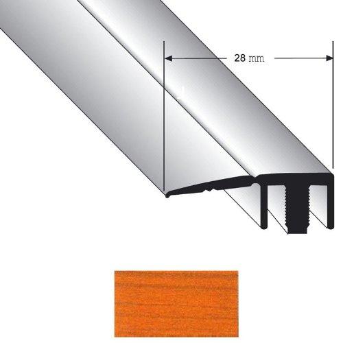 Abschlussprofil Duo Grip 8100 28mm Kirsche 0,9m