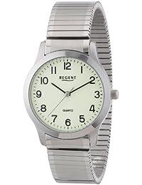 Regent Herren-Armbanduhr XL Analog Edelstahl 11310039